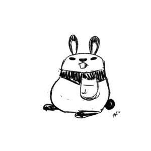 Rabbit panda