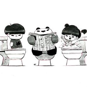 Toilet Pandas