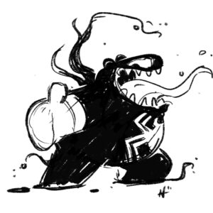 20200326_ScribbleTime_SuperVillains_0004_Venom