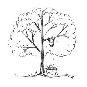20200328_ScribbleTime_0005_TreePandaWBucketOfSharks