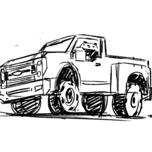20200330_ScribbleTime_Cars_01_FordF-350