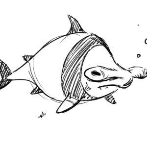 20200409_ScribbleTime_Ocean_06_HammerheadPanda