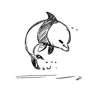 20200409_ScribbleTime_Ocean_07_DolphinPanda