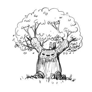 20200410_ScribbleTime_FanDrawings_06_TreePanda