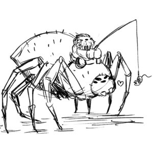 20200413_ScribbleTime_Monsters_03_Aragog