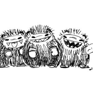 20200413_ScribbleTime_Monsters_06_Critters