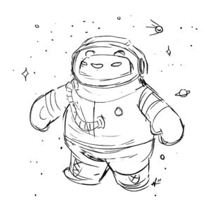 20200414_ScribbleTime_Space_01_Cosmonaut