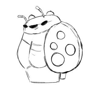 20200420_ScribbleTime_Bugs_01_LadybugPanda