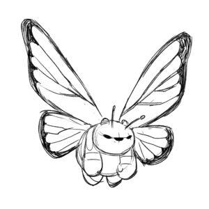 20200420_ScribbleTime_Bugs_05_ButterflyPanda