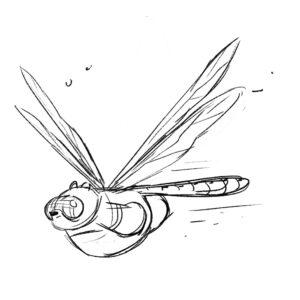 20200420_ScribbleTime_Bugs_06_DragonflyPanda