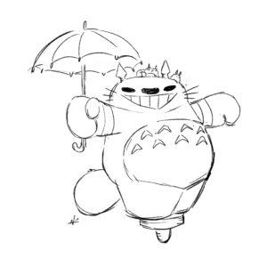 20200423_ScribbleTime_StudioGhibli_01_Totoro