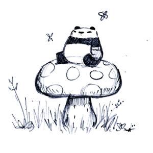 20200429_ScribbleTime_RealDrawingTools_03_Mushroom