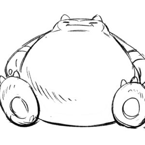 20200507_ScribbleTime_Pokemon_06_Snorlax