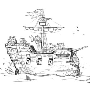 20200511_ScribbleTime_Pirates_01_PirateShip