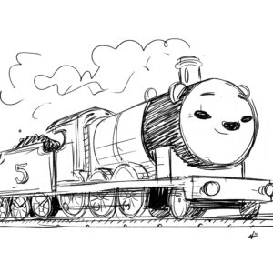 20200518_ScribbleTime_ThomasTheTankEngine_03_James