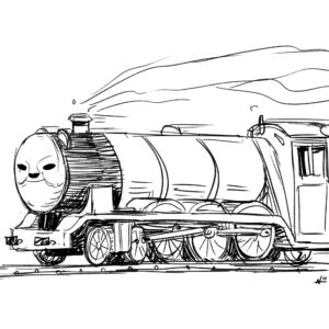 20200518_ScribbleTime_ThomasTheTankEngine_05_Gordon