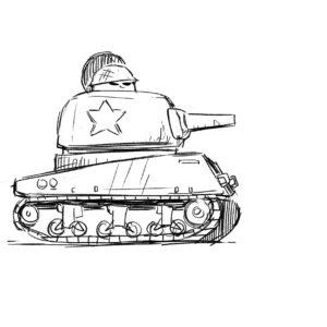 20200525_ScribbleTime_Military_02_Tank