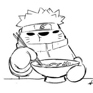 20200609_ScribbleTime_Naruto_01_Naruto