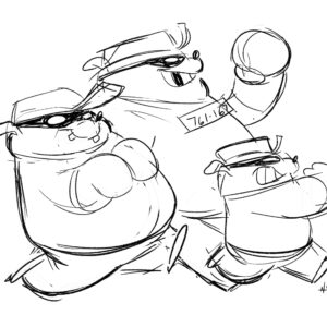 20200615_ScribbleTime_DuckTales_08_Beagle Boys