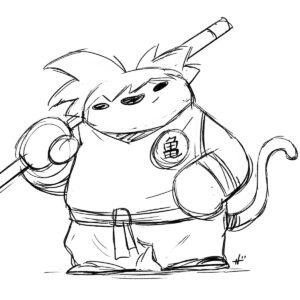 20200618_ScribbleTime_DragonBall_IG_01_Goku